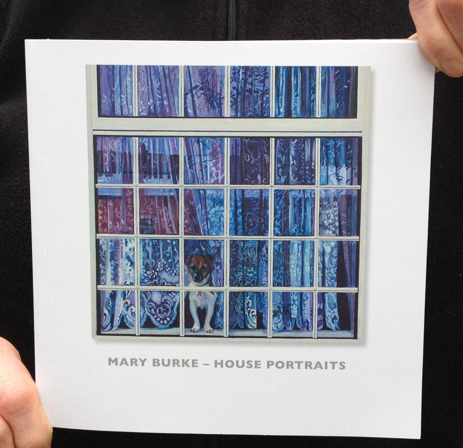 Visual Art Book Cover ~ Mary burke